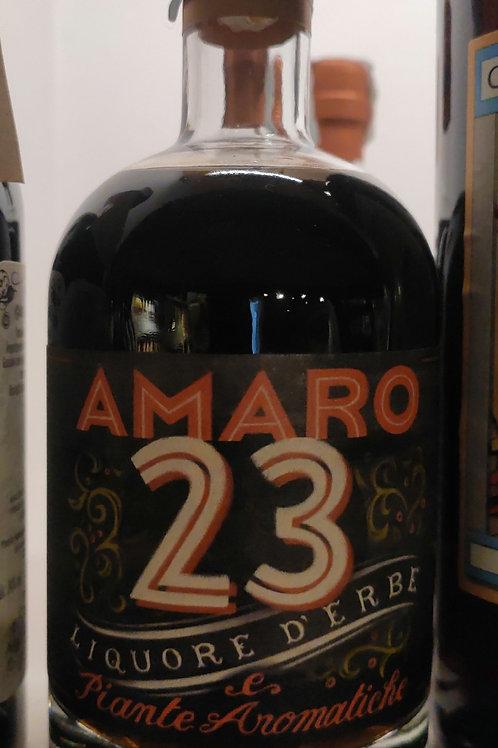 AMARO 23 liquore d'erbe e piante aromatiche 50cl