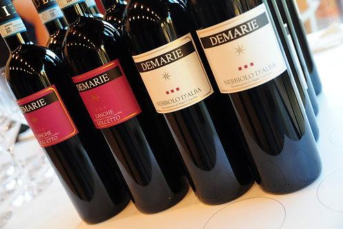 DE MARIE Piemonte - vini rossi