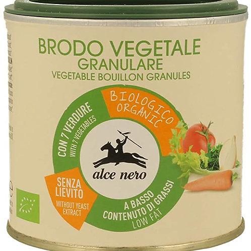 Brodo vegetale granulare Alce Nero
