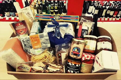 cesta natalizia natale tradizionale gourmet