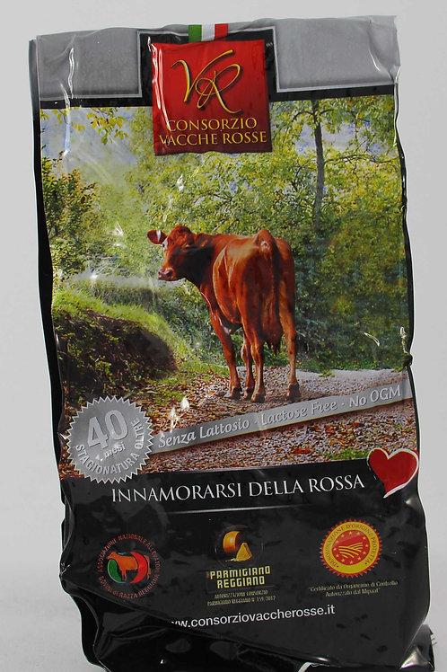 Parmigiano reggiano Vacche rosse 40 mesi stagionatura senza lattosio