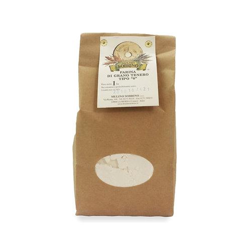Farina grano tenero Tipo0 - Mulino Sobrino - bio