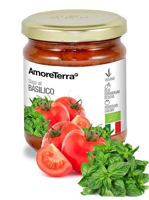 Sugo pronto AmoreTerra, con Basilico, Erbe Provenzali, Melanzane, Olive
