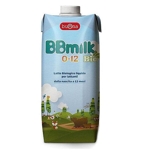 Buona BBmilk 0-12 Bio latte per lattanti biologico liquido 500ml