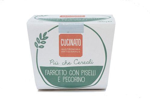 Farrotto Piselli e Pecorino