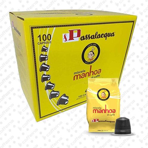 Caffè Passalacqua - 20 Capsule compatibili Nespresso Manhoa
