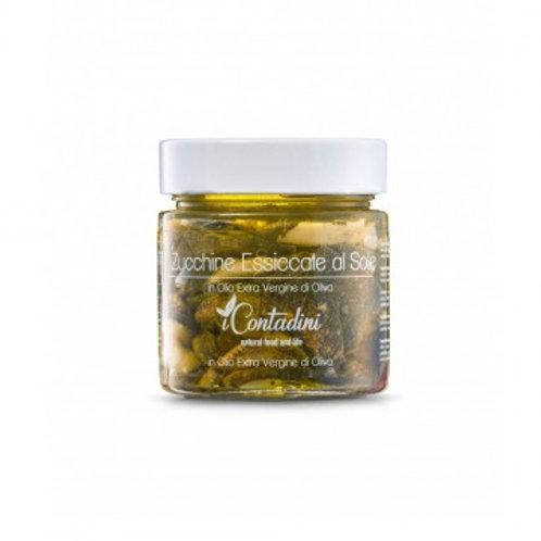 iCONTADINI Zucchine essiccate al sole sott'olio 230gr