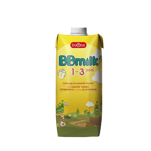 BBmilk 1-3 anni liquido 500ml