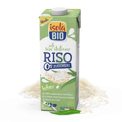 Bevanda di Riso 0% zuccheri 1lt IsolaBio