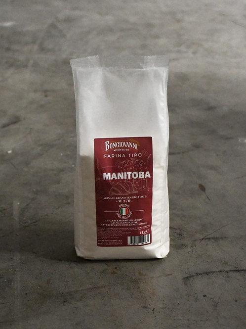 Farina Tipo 0 Tipo Manitoba – 1 kg – 370 W - MOLINI BONGIOVANNI