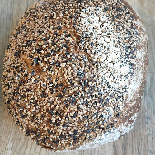 Pane integrale al sesamo (tipo Siciliano) 500g