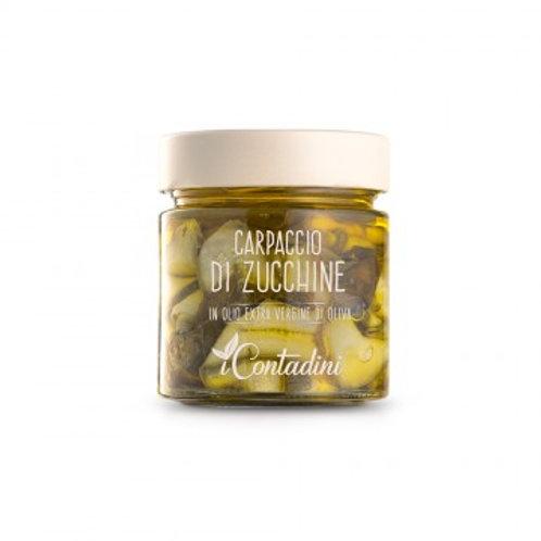 iCONTADINI Carpaccio di Zucchine alla crudaiola 230gr