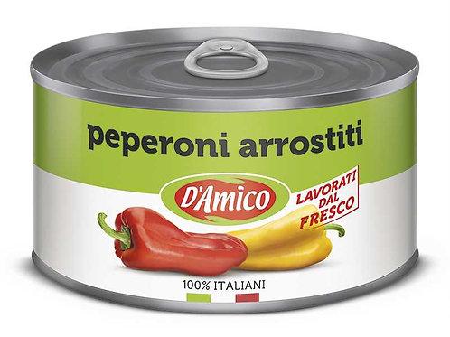 Peperoni arrostiti 400gr D'AMICO