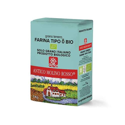 Farina grano tenero Tipo0 Bio 1kg - MOLINO ROSSO