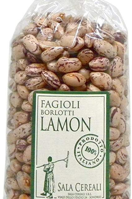 Fagioli Borlotti LAMON 500gr SALA CEREALI