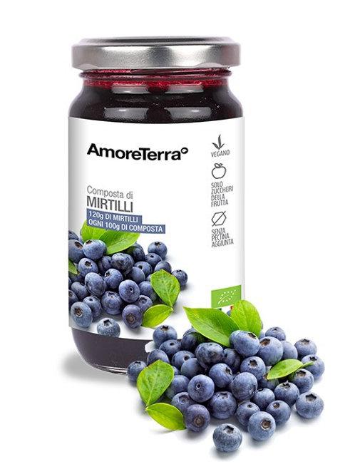 composta 100% frutta bio 220gr no pectina no zuccheri aggiunti amoreterra