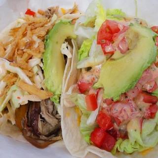 Pork & Chicken Soft Tacos