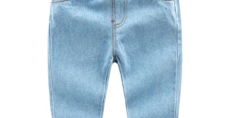 Unisex Light Denim Jeans