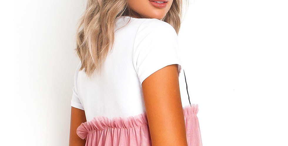 Coco Tulle Top