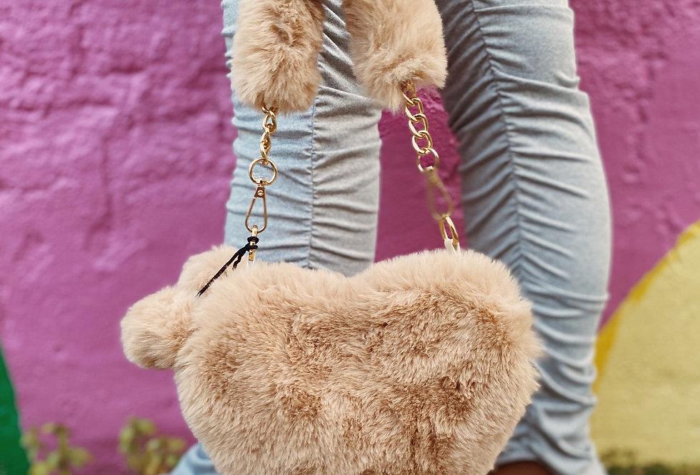 Faux Fur Mini Bag