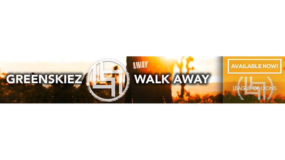 Greenskiez - Walk Away - Transparente Ba