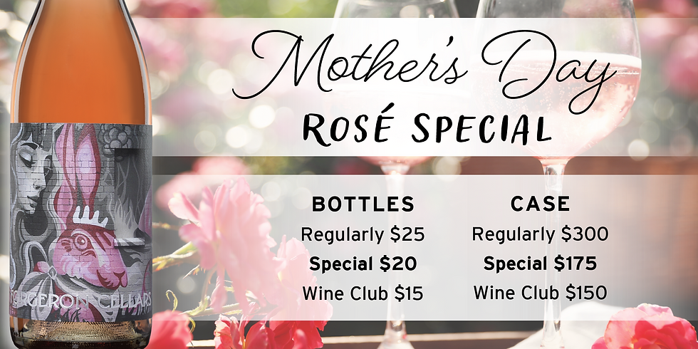 Mother's Day Tasting