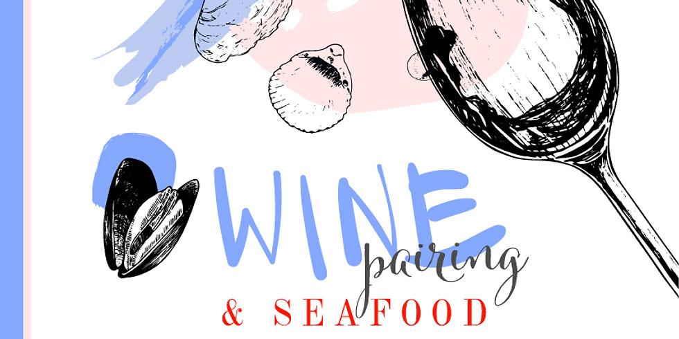 Wine Pairing & Seafood at Forgeron Cellars