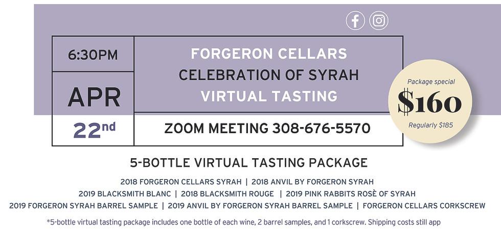 Celebration of Syrah Virtual Tasting