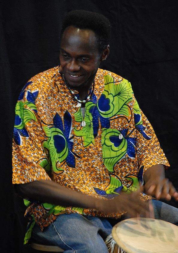 Percussion Samuel Oday Mensah