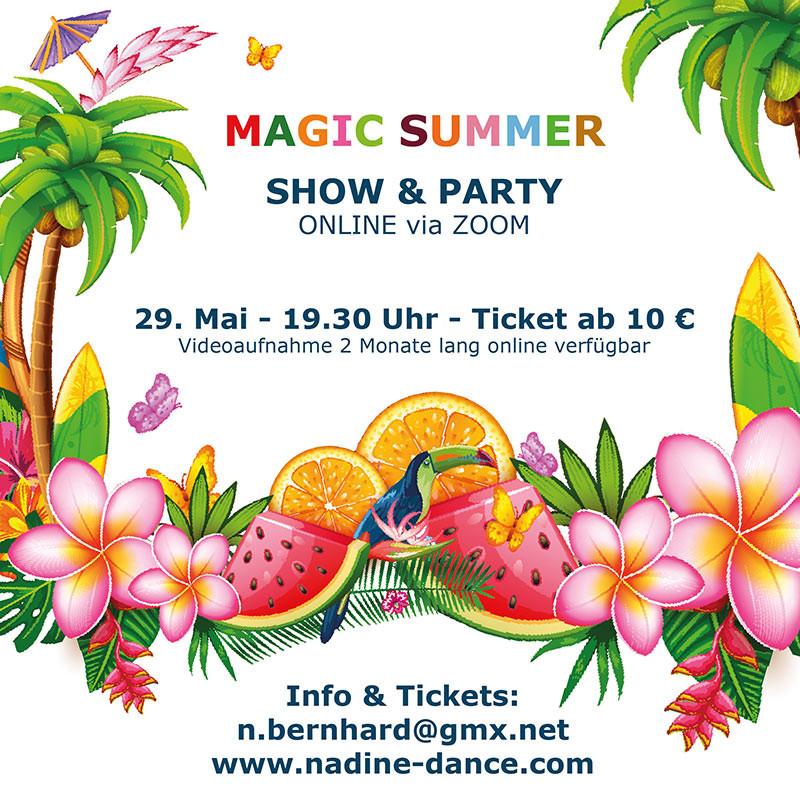 Magic Summer Show Flyer