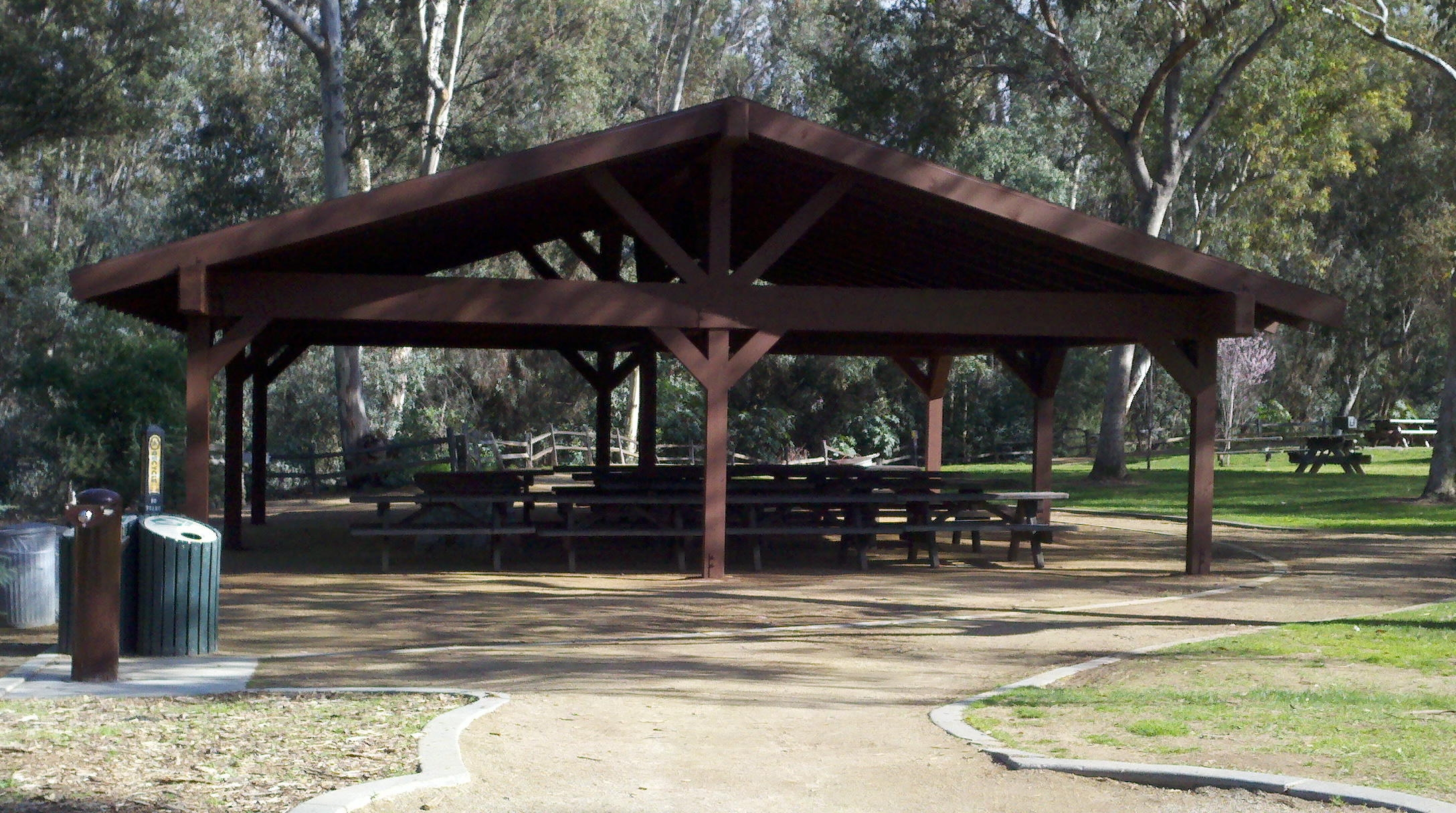 Citrus Park Group Pinic Area Tables
