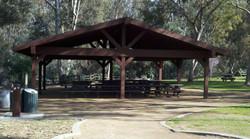 Citrus Park Group Pinic Area Tables