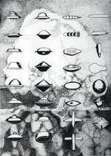 Obscured by a Soviet chart of UFO s the