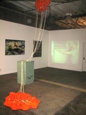 chute install - Metrolpolitain Gallery St Louis
