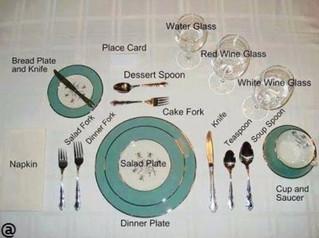 Navigating Fine Dining Silverware Utensils