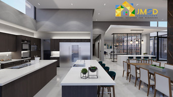 KITCHEN INTERIOR RENDERING NAPLES, FLORIDA