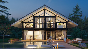 Concept House Rendering Services