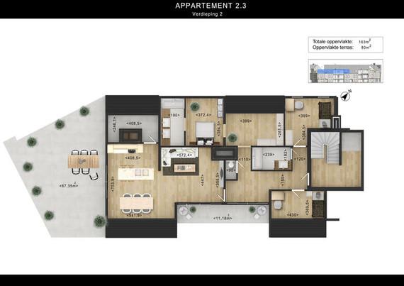 2D Floor Plan Rendering With Photoshop