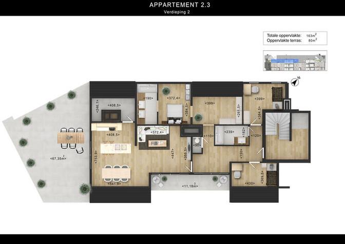2d floor plans Rendering