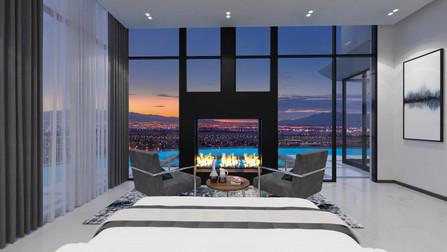 Bedroom 3D Interior Rendering Services Las Vegas  NV