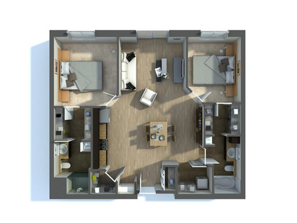 3D Floor Plan Renderings Services