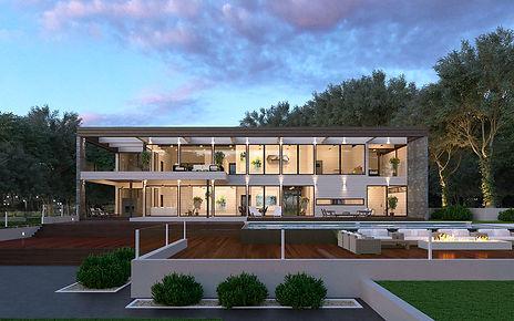 Modern Home Exterior Design Services