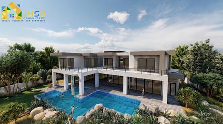 Photorealistic Residential Home Rendering Henderson Nevada