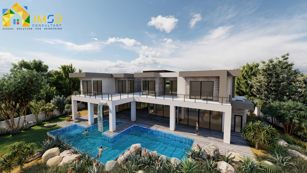 3D Home Exterior Rendering Services Henderson Nevada