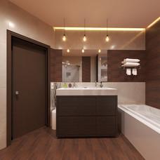 Bathroom 3D Interior Rendering Los Angeles