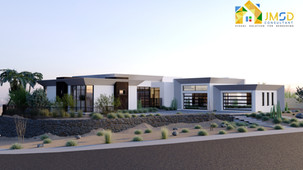 Modern Villa 3D Property Rendering project San Antonio Texas
