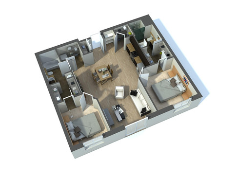 3D Floor Plan Design Servies