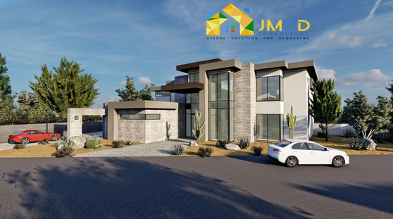 Residential Home Exterior Rendering Services Henderson Nevada