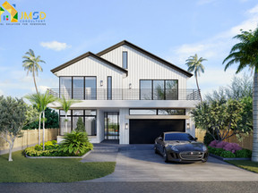 Case Project of 3D Home Renderings with Landscape Fort Lauderdale Florida