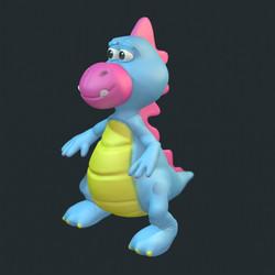 puppy 3d character model